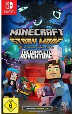 Nintendo Switch - Minecraft Story Mode: The Complete Adventure mit OVP
