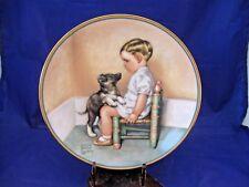 """Collector Plate Sympathy - """"A Child'S Best Friend"""" # 1149E - Bessie P Gutmann"""