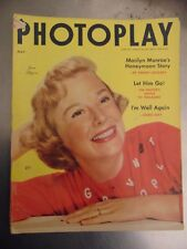 June Allyson Marilyn Monroe Montgomery Clift Photoplay May 1954 #M7671