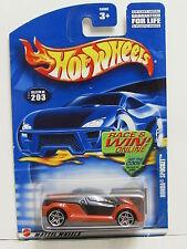 HOT WHEELS 2002 HONDA SPOCKET BLACK #203