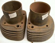 1956-59 AJS Matchless G11 600cc 7 fin pair cylinders T