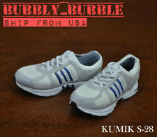 "1/6 Kumik Female Sneakers Adidas Style For 12"" Hot Toys Figure SHIP FROM USA"