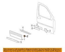 Pontiac GM OEM 99-05 Montana Front Door-Lower Molding Retainer 10270672