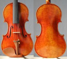 Master handmade violin Guarneri fiddle 4/4, mellow tone antique varnish violine