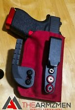 The Armzmen AIWB red Suede for G43, G43X, G48