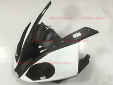 Front Nose Cowl Upper Fairing For BMW S1000RR 2015-2017 S 1000RR Black/White