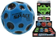 MY Extreme Hi Bounce Space Moon Ball Kids Sports Fun Toy Throw Catch Spin Play