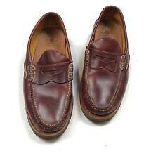 Yuketen Country Loafer Burgundy Men's 11.5 E Made in USA