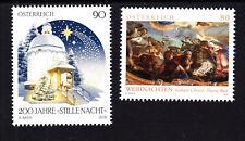 2018 11, Österreich, beide Weihnachtsmarken,