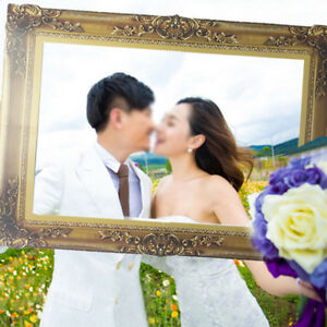 Romantic Wedding Photo Frame Photo Props Photo Booth Wedding Party DecRKZT