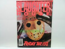 Slaughter House Horror Magazine # 5 Friday the 13th Part VIII Japanese Horror