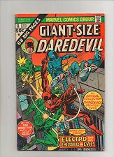 Giant-Size Daredevil #1 - Electro Battle Cover! - (Grade 6.0) 1975