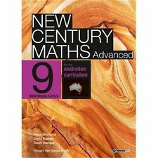 New Century Maths Advanced 9 Student Book Plus Access Card for 4 Years by Sarah