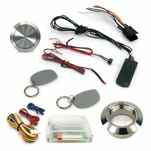 One Touch Engine Start w/ RFID Immobilizer Conversion Kit For GM Steering Column