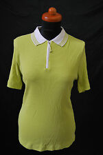MV Marie Valois Shirt Golf Stretch NEW Size 42 Polo Ribbed function 119,- d-1618