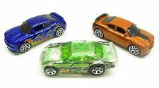 * 1/64 * Hot Wheels X 3 * Dodge Charger SRT8 X 2 + Clear Nascar Stocker *