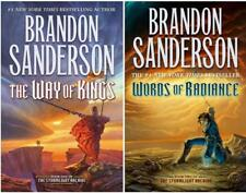 Stormlight Archive Series Collection Set 1-2 by Brandon Sanderson Brand New