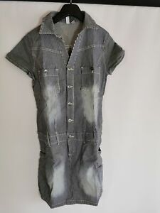 Rainbow Jeanskleid, dunkelblau, Gr. 40