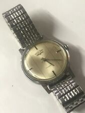 VINTAGE VULCAIN WIND UP WATCH SWISS 17 JEWELS & Stainless Band