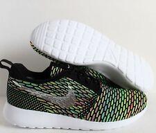 Mens Nike Flyknit Roshe Run iD SHOES Multi-Color/Silver SZ 10  ( 718293-993 )