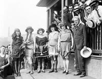 "1921 Bathing Beauty Costume Contestants Old Photo 8.5"" x 11"" Reprint"