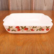 Sheffield Strawberries N Cream Stoneware Square Casserole Baking Dish