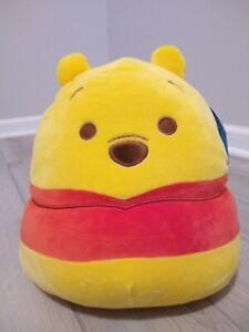 "New 2020 Disney Winnie The Pooh Bear Squishmallow 10"" Soft Plush Gift Kellytoy"
