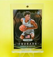 James Wiseman CRUSADE ROOKIE WARRIORS PRIZM - INVESTMENT - UV FASE - MINT