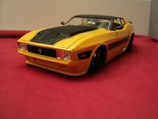 Jada 1973 Ford Mustang Mach 1 1/24 scale 2013 release new no box yellow exterior