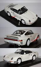 Minichamps Porsche 959 1985 blanc 1/18 78083 22