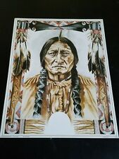 Sitting Bull Picture Print in Lithograph by Dealer