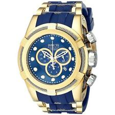 Invicta Round Polyurethane Band Wristwatches