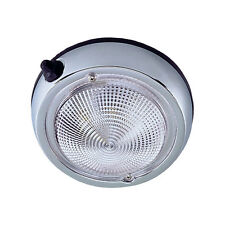"Perko Surface Mount Dome Light - 5"" - Chrome Plated"