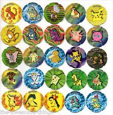 POKEMON Salta Tazos Complete set of 50 - RARE AWESOME Collectibles