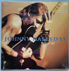 Johnny Hallyday Bercy 92 3 LP Original 1993 Edition Limitée Numérotée Scellé