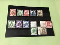 Japanese Occupation of Burma 1943/44 Mint Never Hinged & Used Stamps Ref 51734