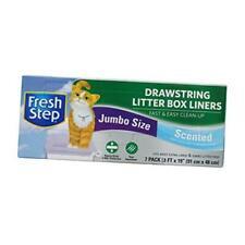 New listing Fresh Step Drawstring Cat Litter Box Liners Fresh Scent