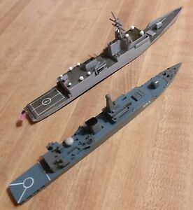 1/700 Custom Adversaries Lot - US Navy BIW FFX and PLA Mod-053H2G FFG