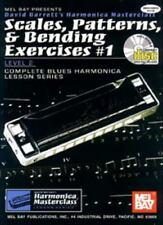 Barrett's Harmonica Masterclass Book & CD: Scales, Patterns, & Bending Exercises