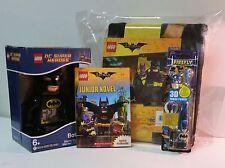 Batman Bedtime Bundle LEGO Batman Movie Blanket Batman Alarm Clock & MORE!