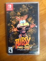 Bubsy: Paws On Fire Limited Edition (Nintendo Switch, 2019) Limited Run Games