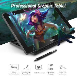 "Bosto 16hd Creative Stylus Display Tablet 15.6"" Drawing Tablet"