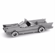 Children Toys 3D Metal Puzzle Tv Version Of The Classic Batmobile Batman Model