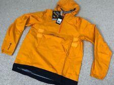 BNWT RAPHA Dark Yellow Explore Hooded GORE-TEX Pullover Jacket (XL)