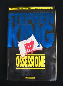 Stephen King - OSSESSIONE - Tascabili Bompiani 1994 (libro con difetti: leggi)