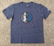 Dallas Mavericks Adidas NBA Basketball Shirt ~ Youth Large L XL ~ Heather Blue
