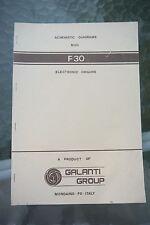 Galanti Group Organ Schematic Diagrams F30