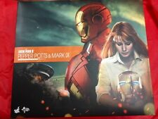 1/6 Hot Toys MMS Pepper Potts and Mark IX EMPTY BOX JC
