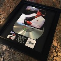 Michael Jackson Thriller Platinum Record Album Disc Music Award MTV Grammy RIAA