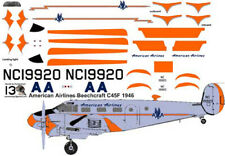 American Airlines Beech 18 C-45 decals for Pioneer 2 1/72 scale